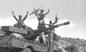 EPLF fighters Eritrea